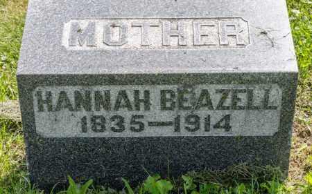 BEAZELL, HANNAH - Wayne County, Ohio   HANNAH BEAZELL - Ohio Gravestone Photos