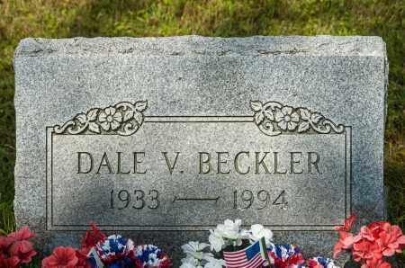 BECKLER, DALE V. - Wayne County, Ohio | DALE V. BECKLER - Ohio Gravestone Photos