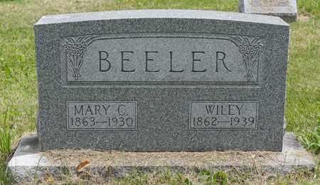 BEELER, WILEY - Wayne County, Ohio | WILEY BEELER - Ohio Gravestone Photos