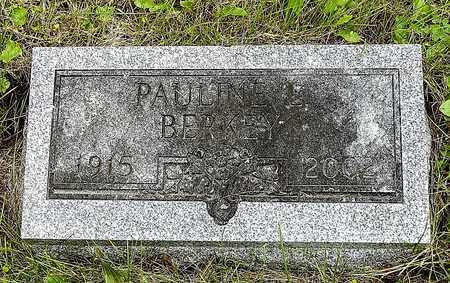 BERKEY, PAULINE L. - Wayne County, Ohio | PAULINE L. BERKEY - Ohio Gravestone Photos