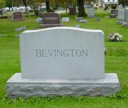 BEVINGTON, BENJAMIN S. - Wayne County, Ohio | BENJAMIN S. BEVINGTON - Ohio Gravestone Photos