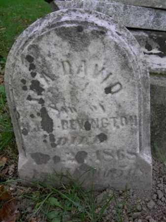 BEVINGTON, IRA DAVID - Wayne County, Ohio | IRA DAVID BEVINGTON - Ohio Gravestone Photos
