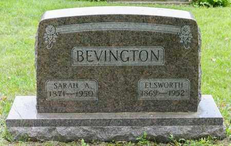 BEVINGTON, SARAH A. - Wayne County, Ohio | SARAH A. BEVINGTON - Ohio Gravestone Photos