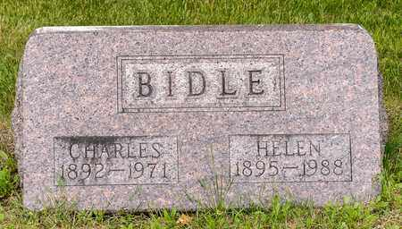 BIDLE, CHARLES - Wayne County, Ohio | CHARLES BIDLE - Ohio Gravestone Photos