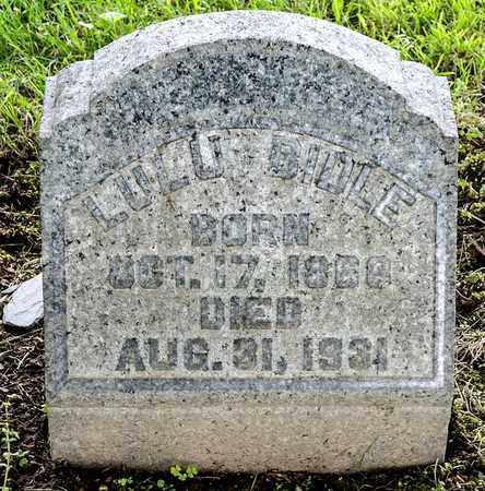 BIDLE, LULU - Wayne County, Ohio | LULU BIDLE - Ohio Gravestone Photos