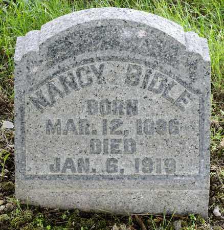 BIDLE, NANCY - Wayne County, Ohio | NANCY BIDLE - Ohio Gravestone Photos