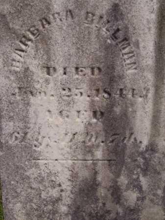 BILLMAN, BARBARA - CLOSEVIEW - Wayne County, Ohio | BARBARA - CLOSEVIEW BILLMAN - Ohio Gravestone Photos