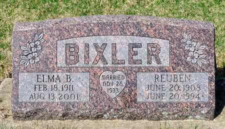 BIXLER, ELMA B - Wayne County, Ohio   ELMA B BIXLER - Ohio Gravestone Photos