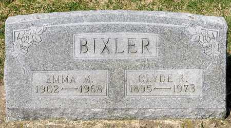 BIXLER, CLYDE R - Wayne County, Ohio | CLYDE R BIXLER - Ohio Gravestone Photos