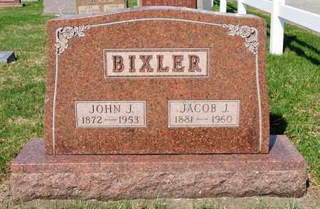 BIXLER, JOHN J - Wayne County, Ohio | JOHN J BIXLER - Ohio Gravestone Photos