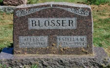 BLOSSER, ESTELLA M. - Wayne County, Ohio | ESTELLA M. BLOSSER - Ohio Gravestone Photos