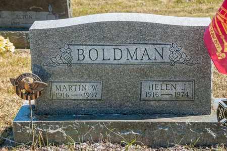 BOLDMAN, HELEN J. - Wayne County, Ohio | HELEN J. BOLDMAN - Ohio Gravestone Photos