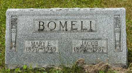 BOMELI, MARY E. - Wayne County, Ohio | MARY E. BOMELI - Ohio Gravestone Photos