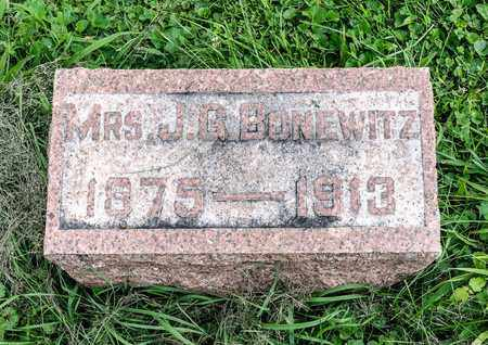 BONEWITZ, MINNIE MAE - Wayne County, Ohio | MINNIE MAE BONEWITZ - Ohio Gravestone Photos
