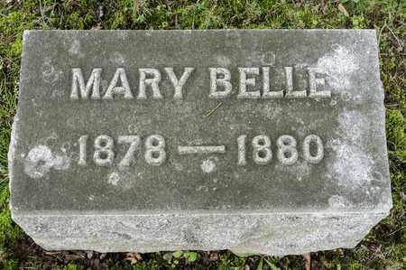 BONEWITZ, MARY BELLE - Wayne County, Ohio | MARY BELLE BONEWITZ - Ohio Gravestone Photos