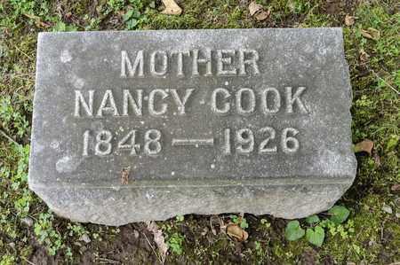 COOK BONEWITZ, NANCY - Wayne County, Ohio   NANCY COOK BONEWITZ - Ohio Gravestone Photos