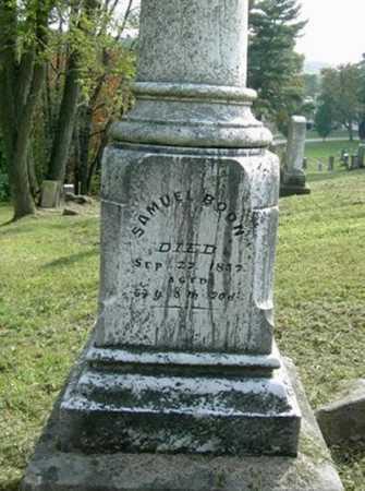 BOON, SAMUEL - Wayne County, Ohio | SAMUEL BOON - Ohio Gravestone Photos
