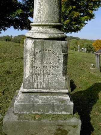 BOON, SUSANNAH - Wayne County, Ohio | SUSANNAH BOON - Ohio Gravestone Photos