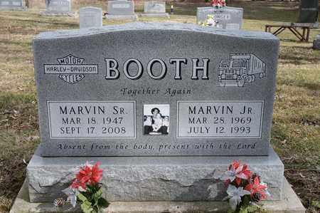 BOOTH, MARVIN - Wayne County, Ohio | MARVIN BOOTH - Ohio Gravestone Photos