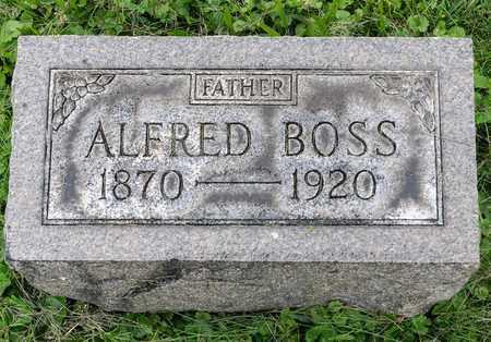 BOSS, ALFRED - Wayne County, Ohio | ALFRED BOSS - Ohio Gravestone Photos