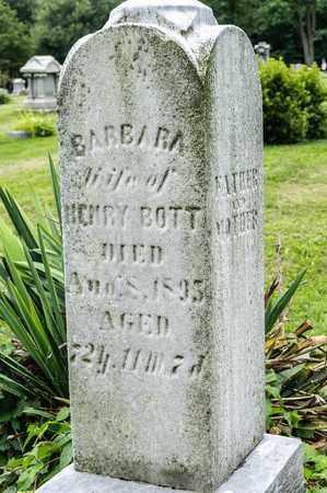BOTT, BARBARA - Wayne County, Ohio | BARBARA BOTT - Ohio Gravestone Photos