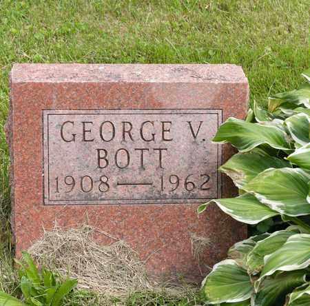 BOTT, GEORGE V. - Wayne County, Ohio | GEORGE V. BOTT - Ohio Gravestone Photos