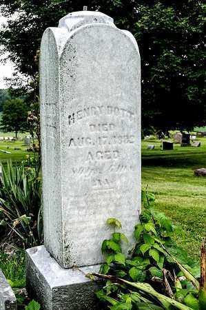 BOTT, HENRY - Wayne County, Ohio   HENRY BOTT - Ohio Gravestone Photos