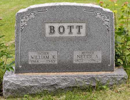 BOTT, NETTIE A. - Wayne County, Ohio | NETTIE A. BOTT - Ohio Gravestone Photos