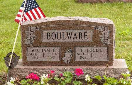 BOULWARE, WILLIAM T. - Wayne County, Ohio   WILLIAM T. BOULWARE - Ohio Gravestone Photos