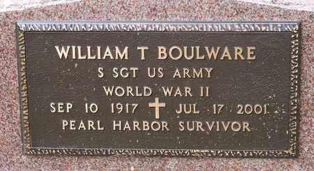 BOULWARE, WILLIAM T. - Wayne County, Ohio | WILLIAM T. BOULWARE - Ohio Gravestone Photos