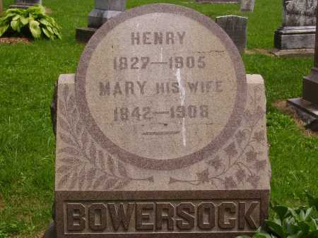 MILLER BOWERSOCK, MARY - Wayne County, Ohio | MARY MILLER BOWERSOCK - Ohio Gravestone Photos