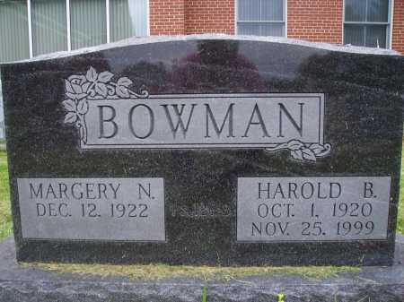 BOWMAN, HAROLD B. - Wayne County, Ohio | HAROLD B. BOWMAN - Ohio Gravestone Photos