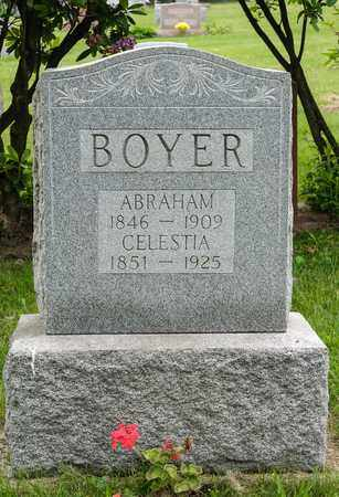 BOYER, CELESTIA - Wayne County, Ohio | CELESTIA BOYER - Ohio Gravestone Photos
