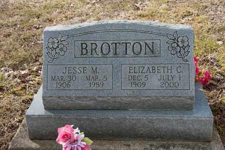 BROTTON, ELIZABETH C. - Wayne County, Ohio | ELIZABETH C. BROTTON - Ohio Gravestone Photos