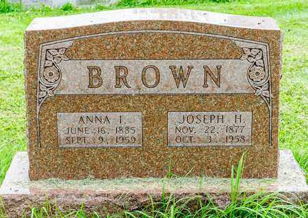 BROWN, ANNA I. - Wayne County, Ohio | ANNA I. BROWN - Ohio Gravestone Photos