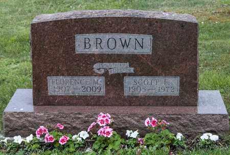 BROWN, FLORENCE M. - Wayne County, Ohio | FLORENCE M. BROWN - Ohio Gravestone Photos