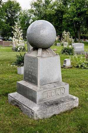 BROWN, WILLIAM S. - Wayne County, Ohio | WILLIAM S. BROWN - Ohio Gravestone Photos