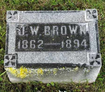 BROWN, JACOB W. - Wayne County, Ohio | JACOB W. BROWN - Ohio Gravestone Photos