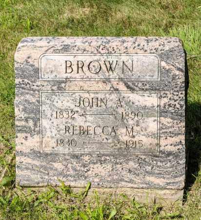 BROWN, REBECCA M. - Wayne County, Ohio | REBECCA M. BROWN - Ohio Gravestone Photos