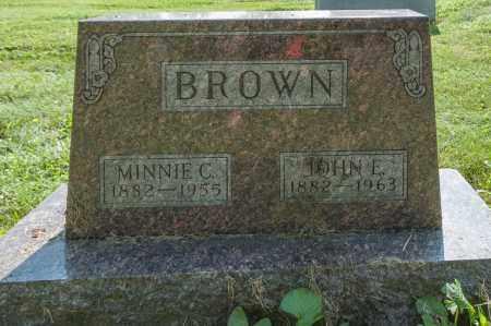 BROWN, JOHN EARL - Wayne County, Ohio | JOHN EARL BROWN - Ohio Gravestone Photos