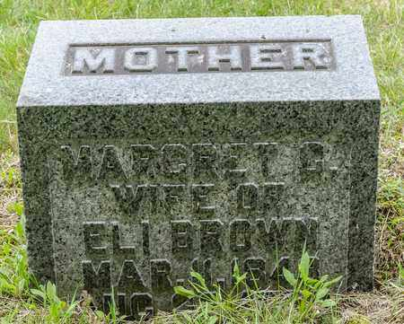 BROWN, MARGARET C. - Wayne County, Ohio | MARGARET C. BROWN - Ohio Gravestone Photos