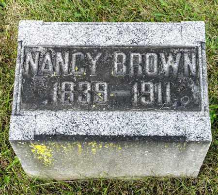 BROWN, NANCY - Wayne County, Ohio | NANCY BROWN - Ohio Gravestone Photos