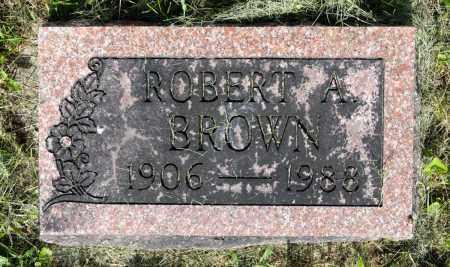 BROWN, ROBERT A. - Wayne County, Ohio | ROBERT A. BROWN - Ohio Gravestone Photos