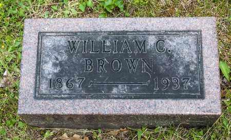 BROWN, WILLIAM C. - Wayne County, Ohio   WILLIAM C. BROWN - Ohio Gravestone Photos