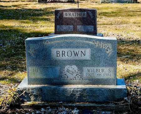 BROWN, WILBUR S. - Wayne County, Ohio | WILBUR S. BROWN - Ohio Gravestone Photos
