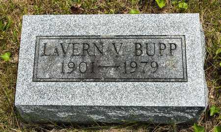 BUPP, LAVERN V. - Wayne County, Ohio | LAVERN V. BUPP - Ohio Gravestone Photos