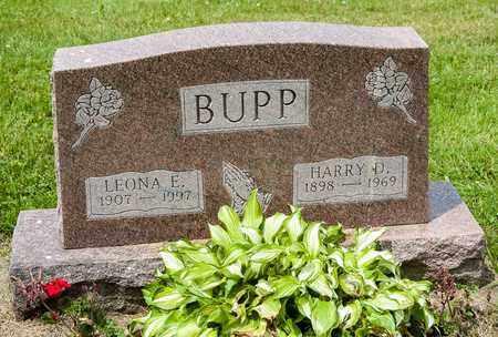BUPP, HARRY D. - Wayne County, Ohio   HARRY D. BUPP - Ohio Gravestone Photos