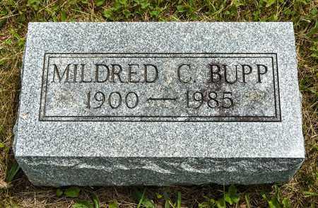 BUPP, MILDRED C. - Wayne County, Ohio | MILDRED C. BUPP - Ohio Gravestone Photos