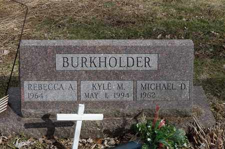BURKHOLDER, KYLE M. - Wayne County, Ohio | KYLE M. BURKHOLDER - Ohio Gravestone Photos