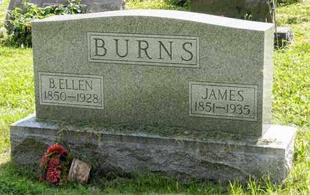 BURNS, B. ELLEN - Wayne County, Ohio   B. ELLEN BURNS - Ohio Gravestone Photos